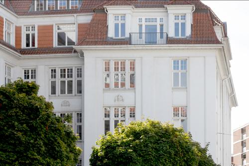 Neue Wege, Bremen, Gebäudeansicht